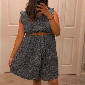 Old Navy Dress Paisley Print Plus Size